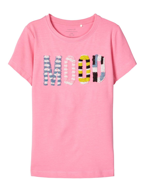 Name It T-skjorte Mood – T-skjorter rosa t-skjorte Finola – Mio Trend