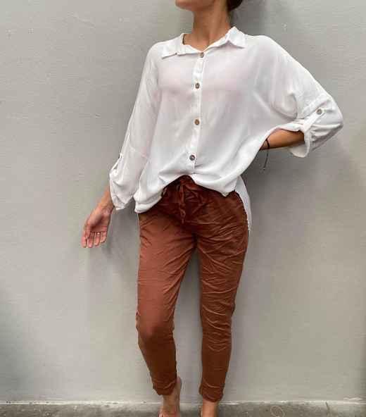 Tindra Pepper bukse rust