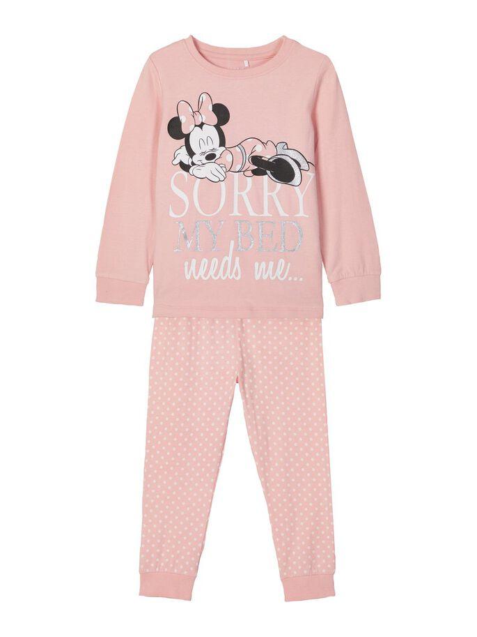 Rosa pysjamas Minnie Mus