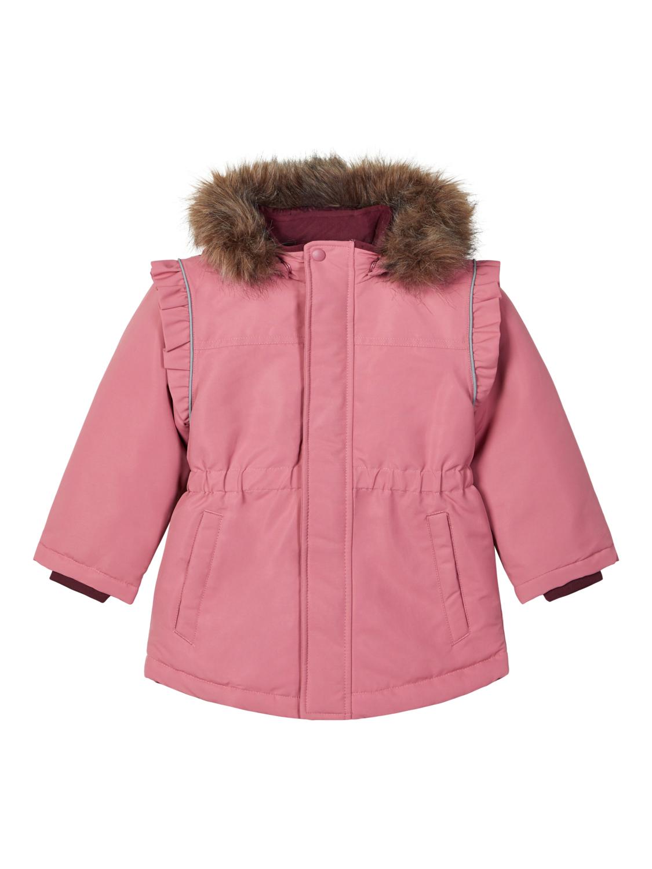 Name It rosa vinterjakke