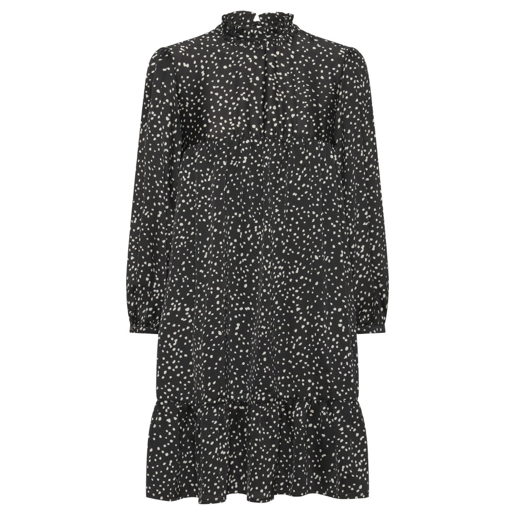 Sort kjole A-View