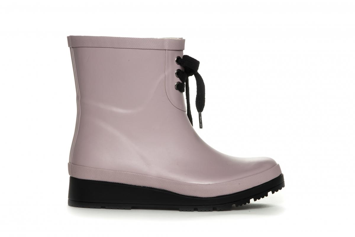 Lave gummistøvler dame