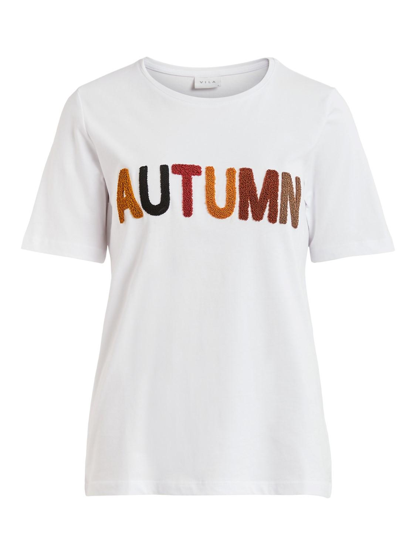Vila t-skjorte Autumn