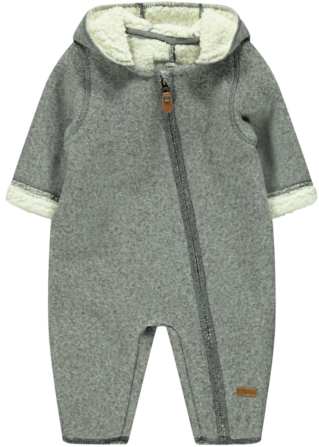 Utedress til baby – Name It grå utedress Miley – Mio Trend