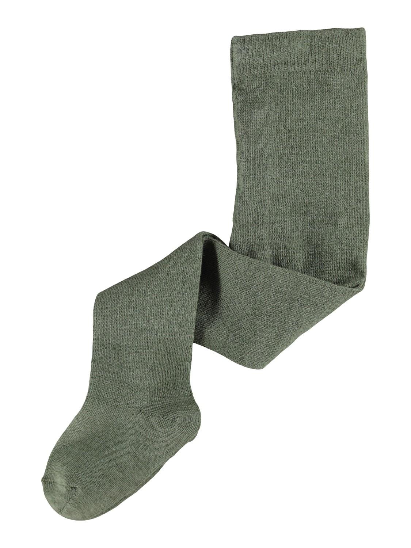 Grønn strømpebukse ull – Ull grønn strømpebukse ull – Mio Trend
