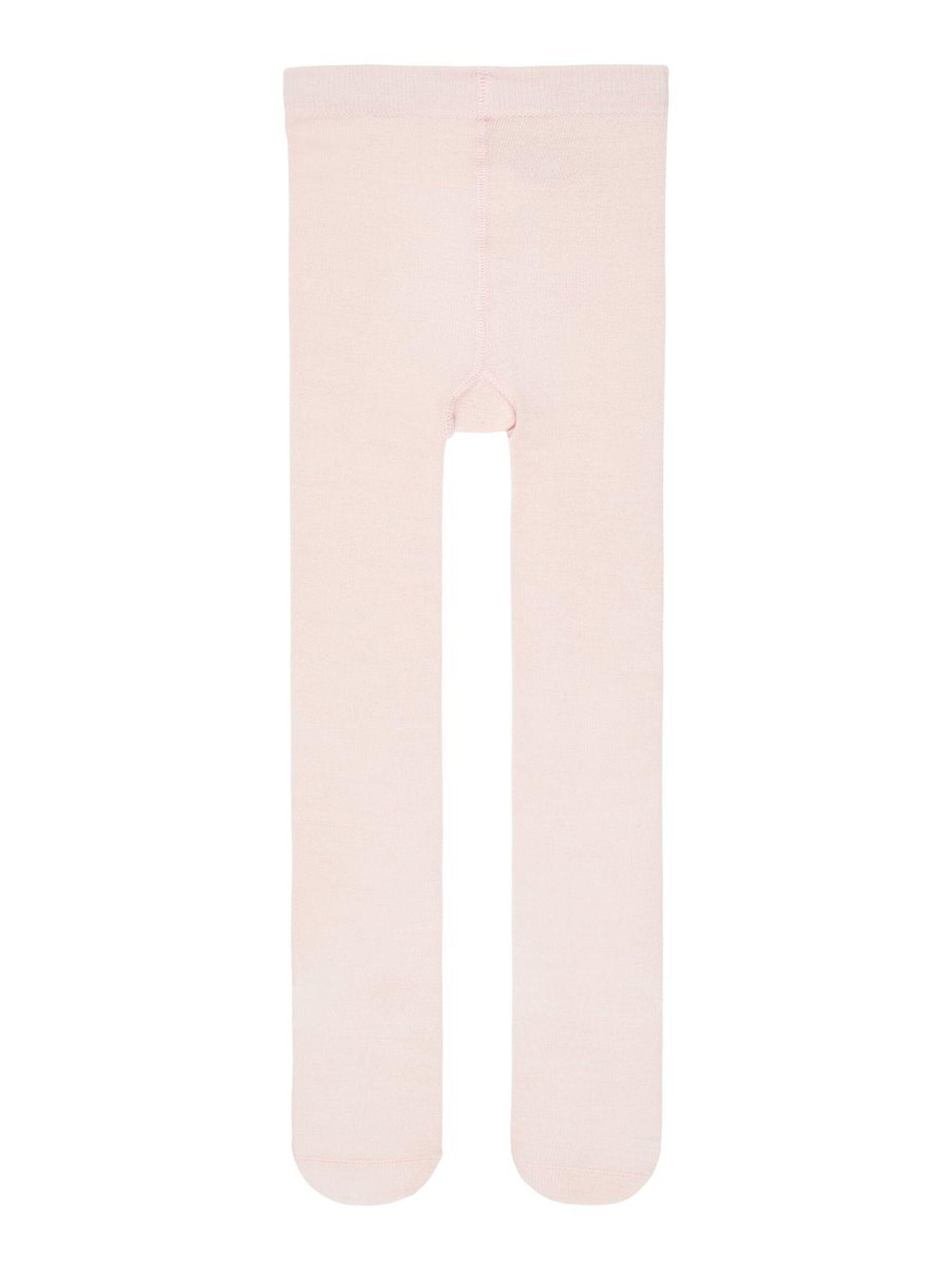Rosa strømpebukse ull – Ull lys rosa strømpebukse ull – Mio Trend