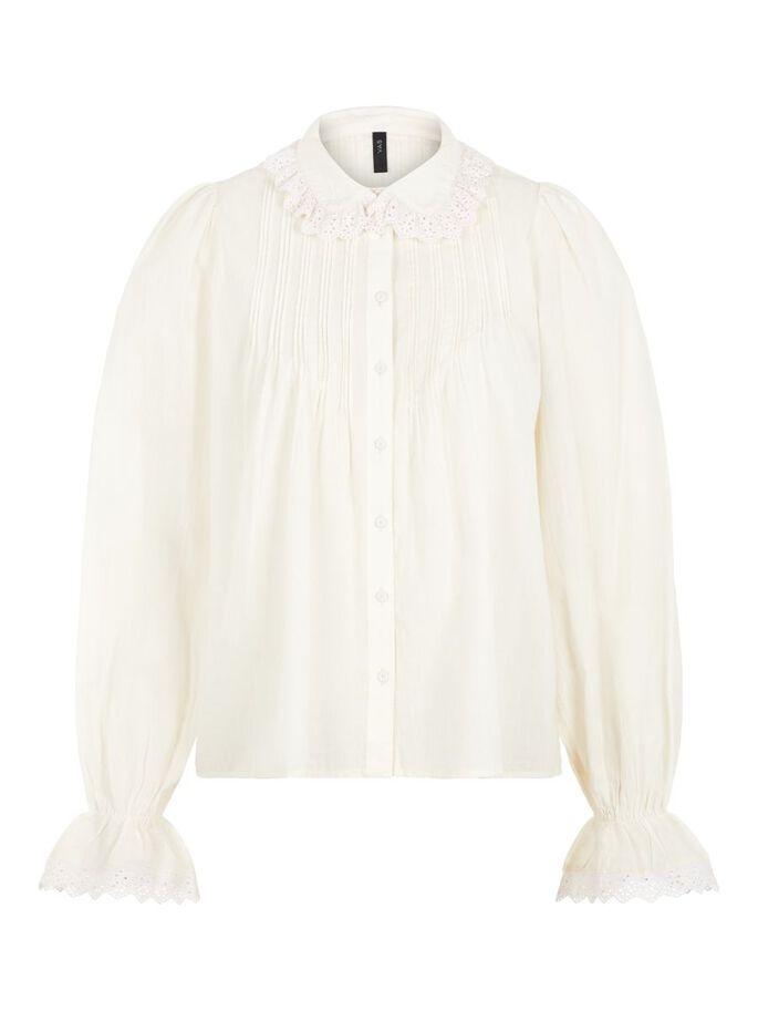hvit storskjorte Geeta MioTrend