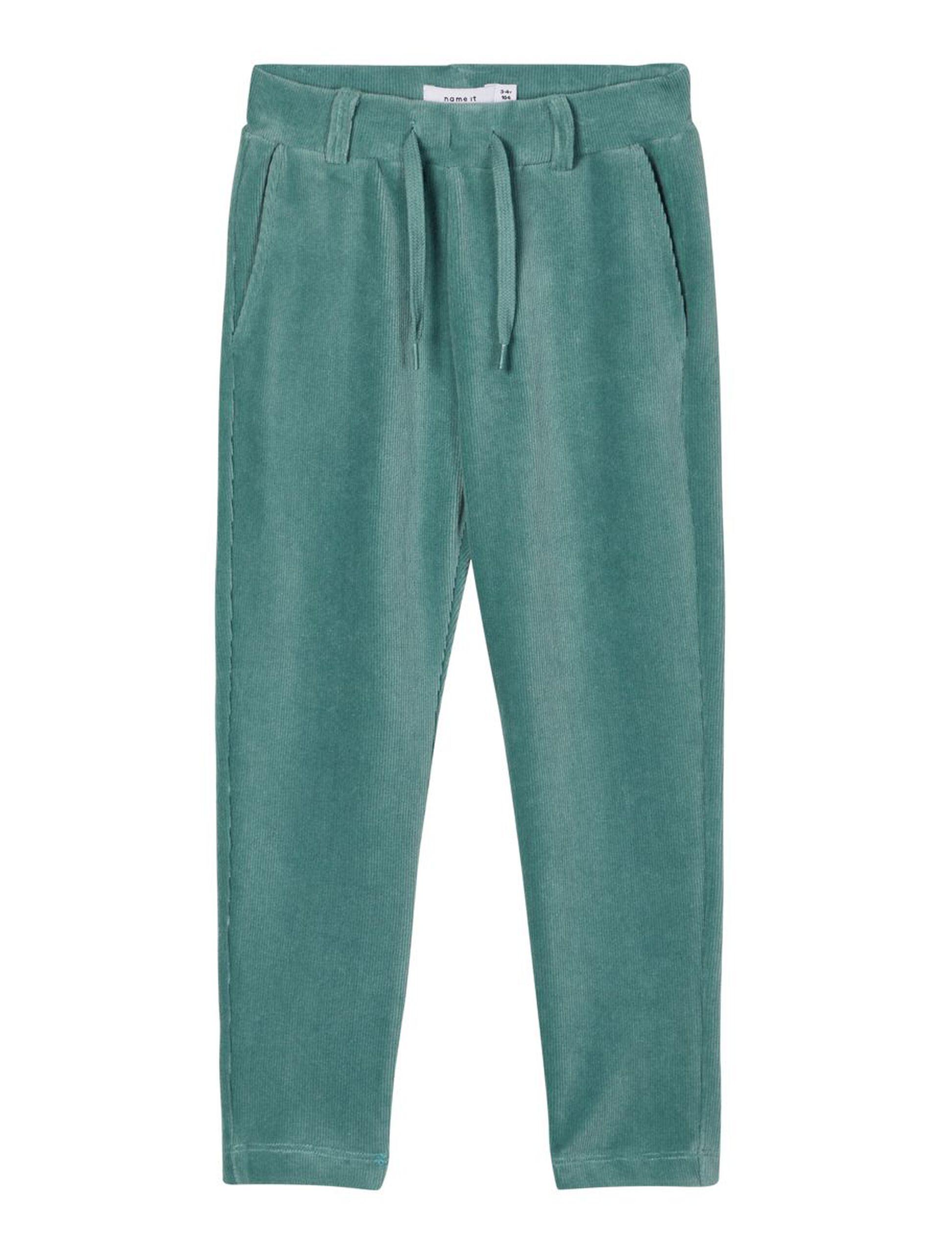 Grønn bukse velur