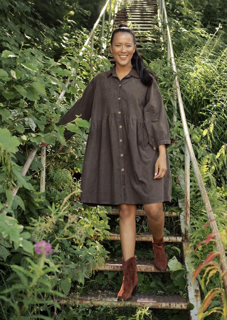 Nectar brun kjole Mindy