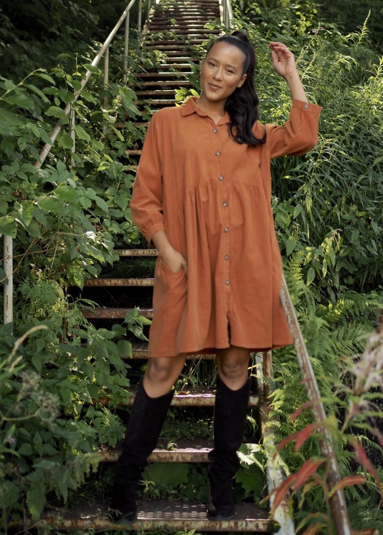 Nectar oranjse kjole