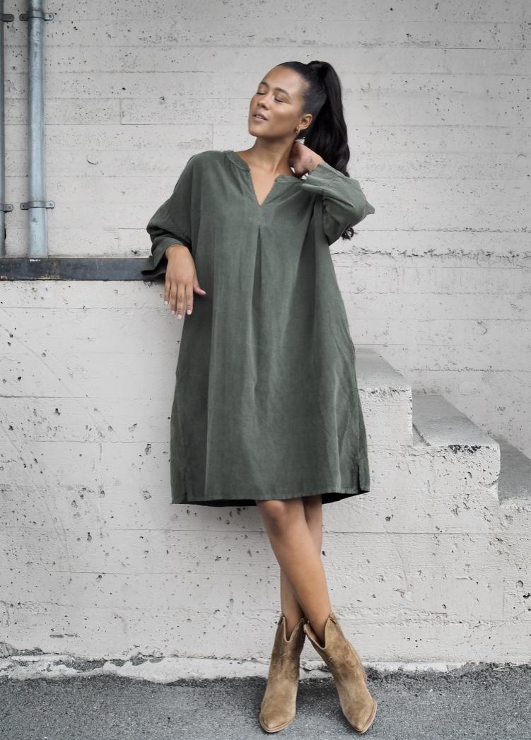 Nectar grønn kjole