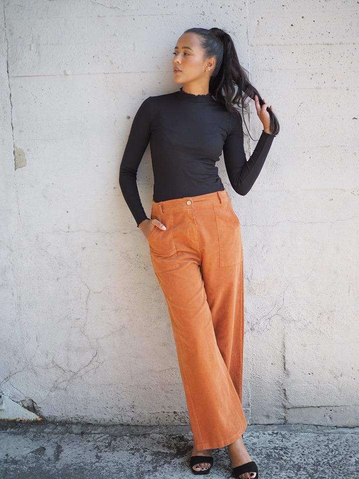 Nectar bukse oransje