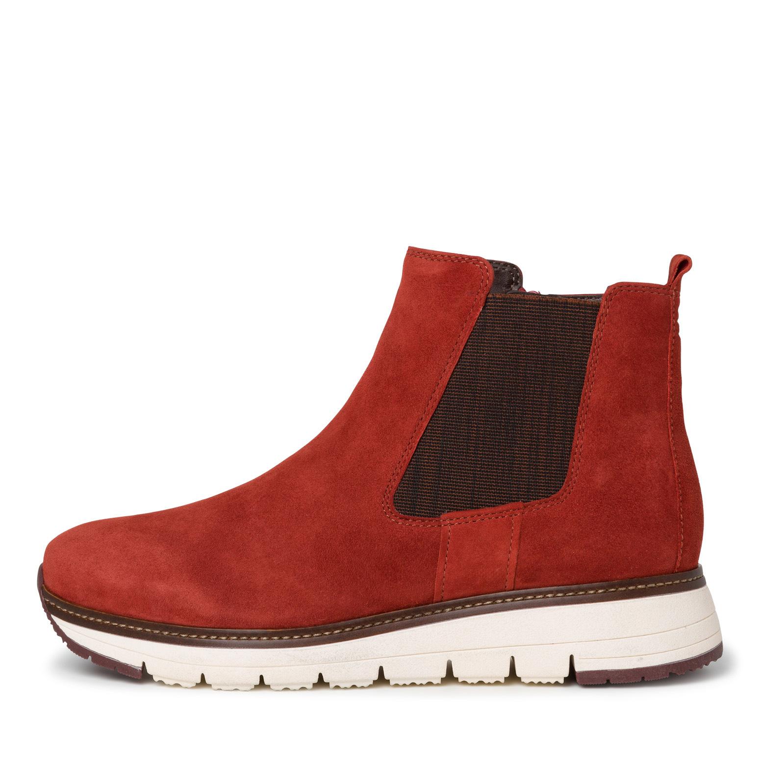 Tamaris rustrød sko