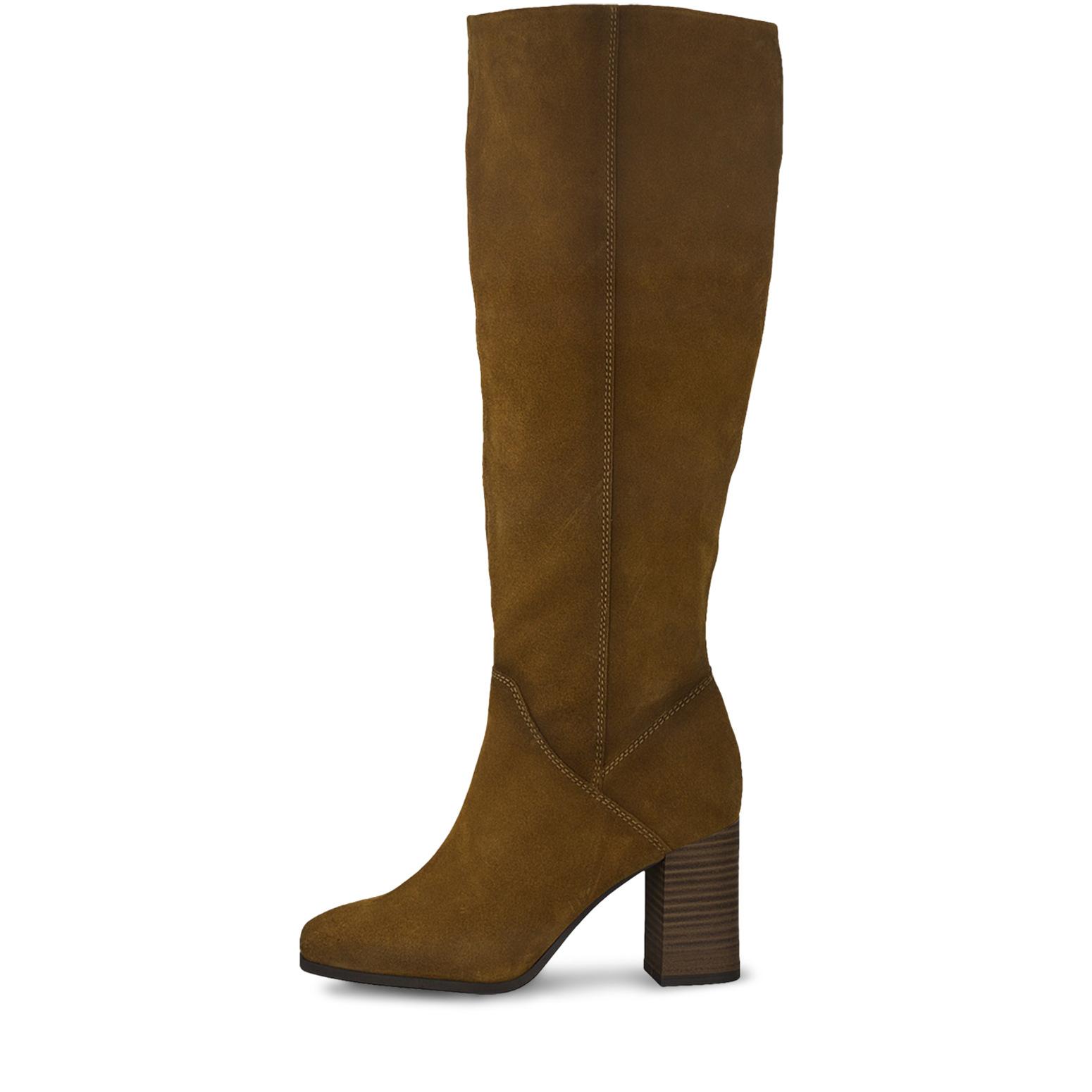 Tamaris brun støvlett
