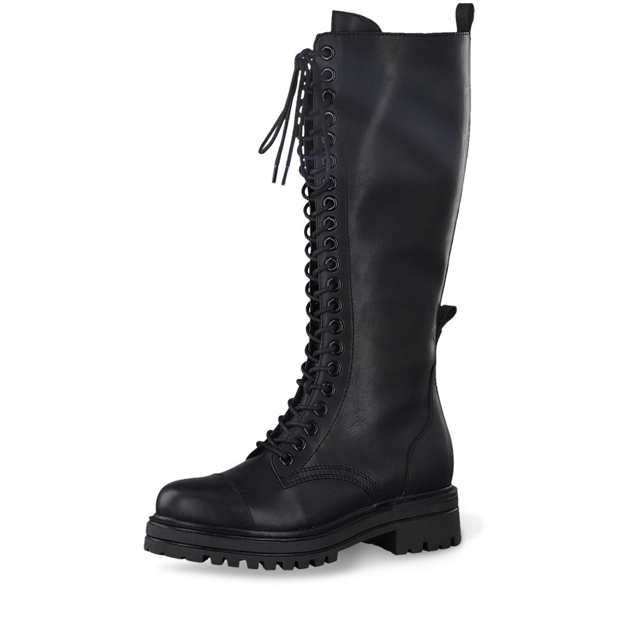 Tamaris boots med snøring