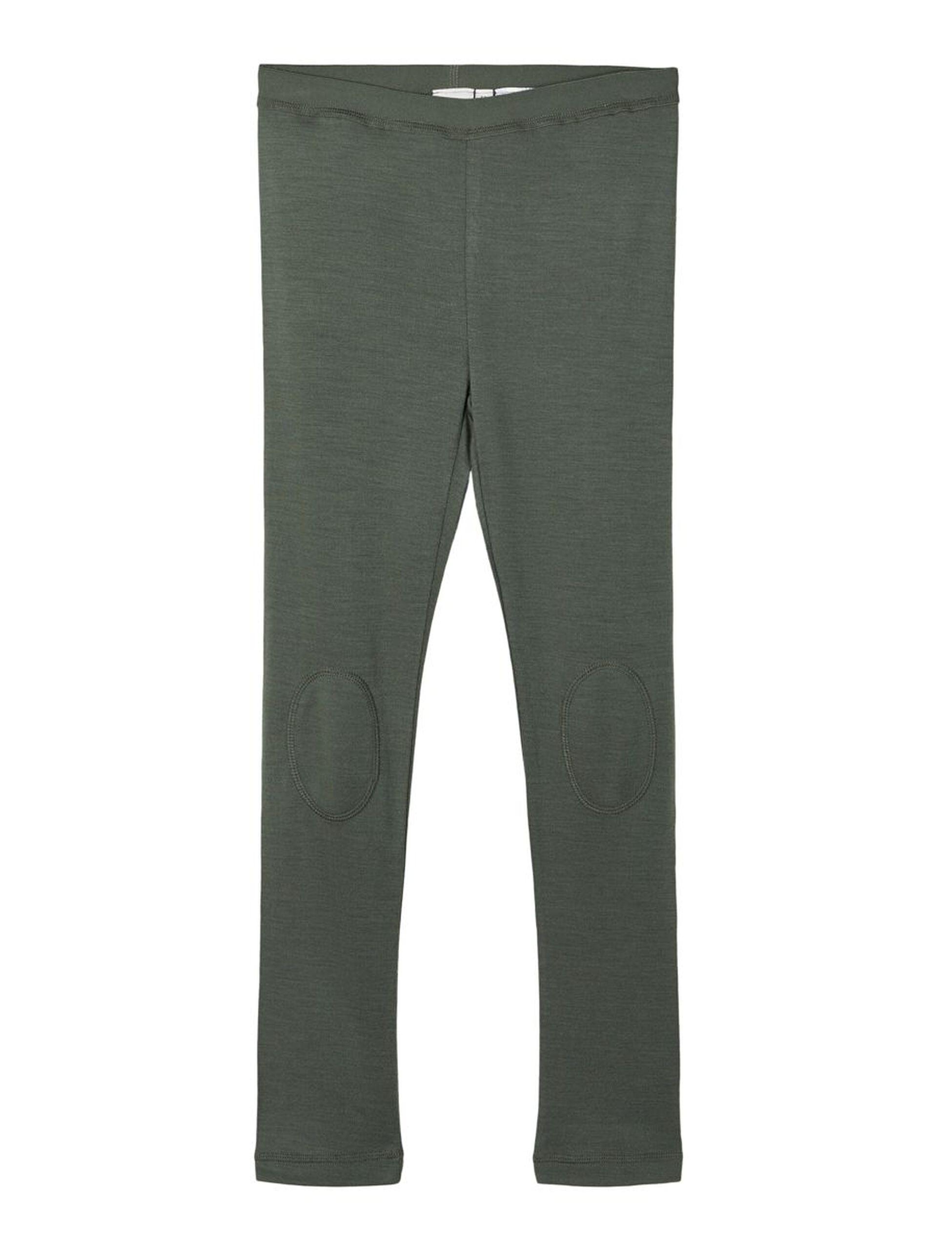Grønn legging i ull