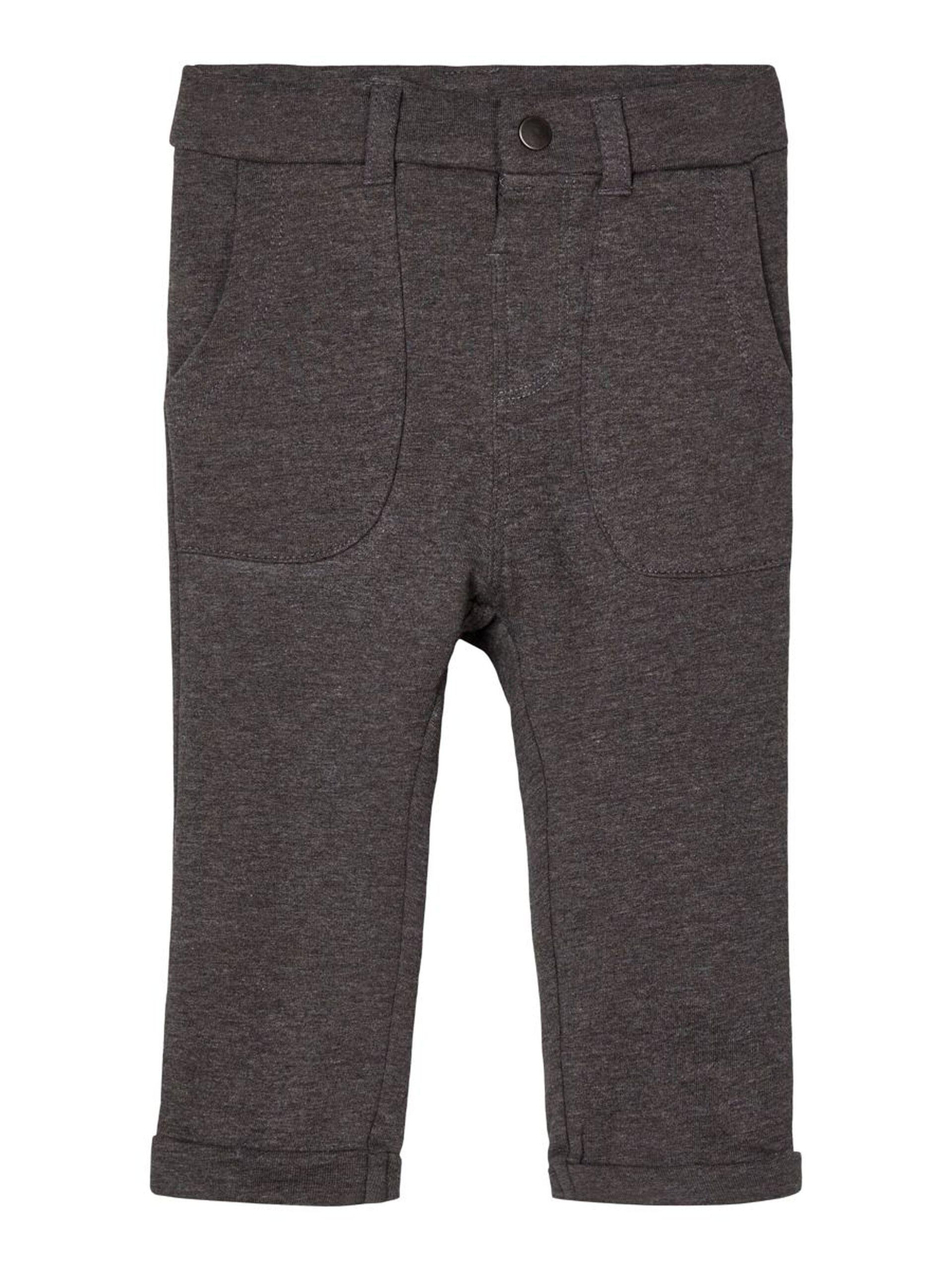 Mørke grå bukse baby – Name It mørke grå bukse – Mio Trend