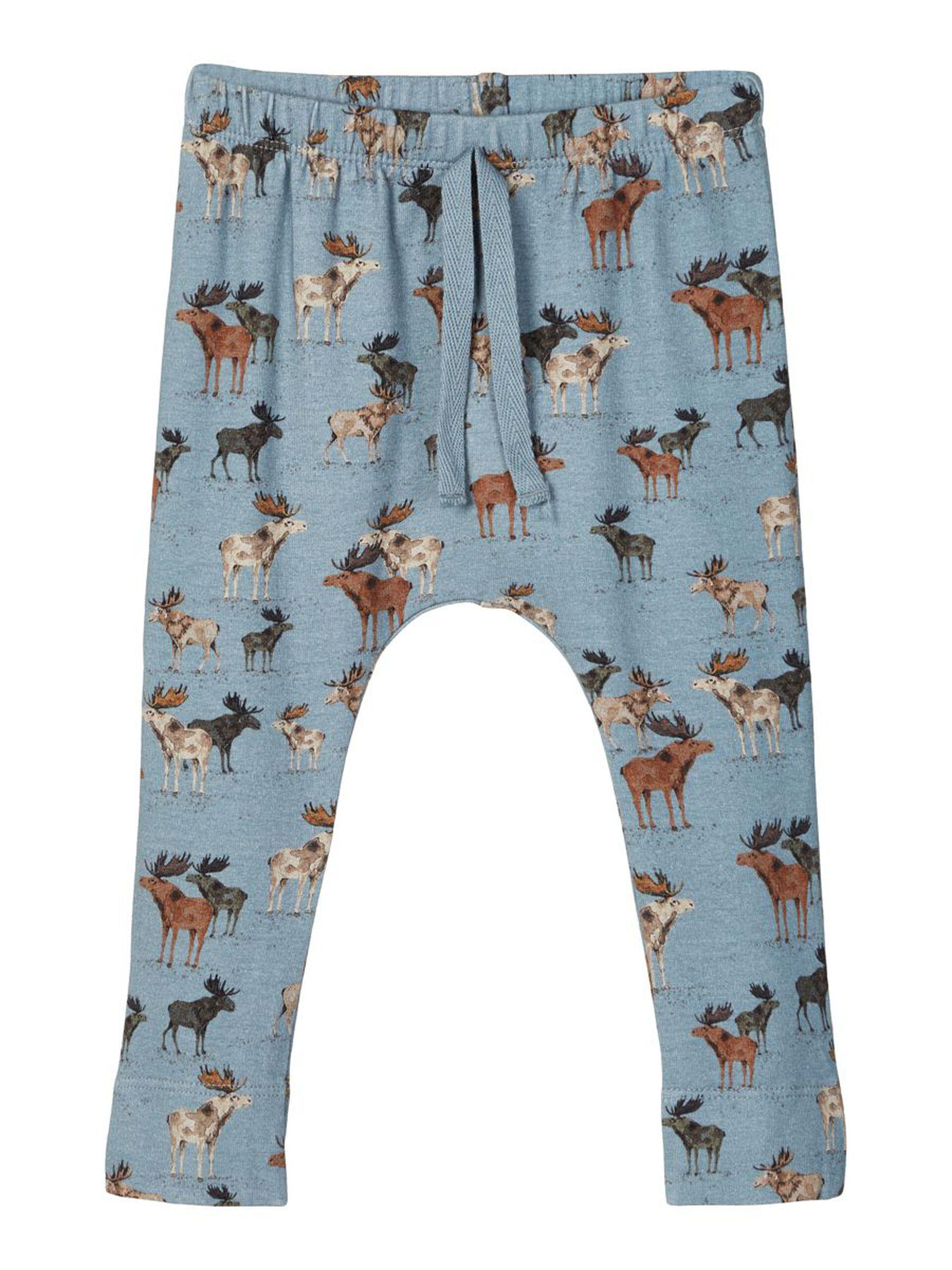Bukse med elg