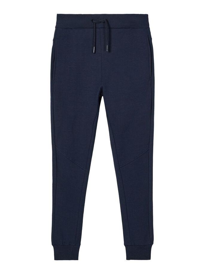 Blå joggebukse barn – Name It blå joggebukse Voltano – Mio Trend
