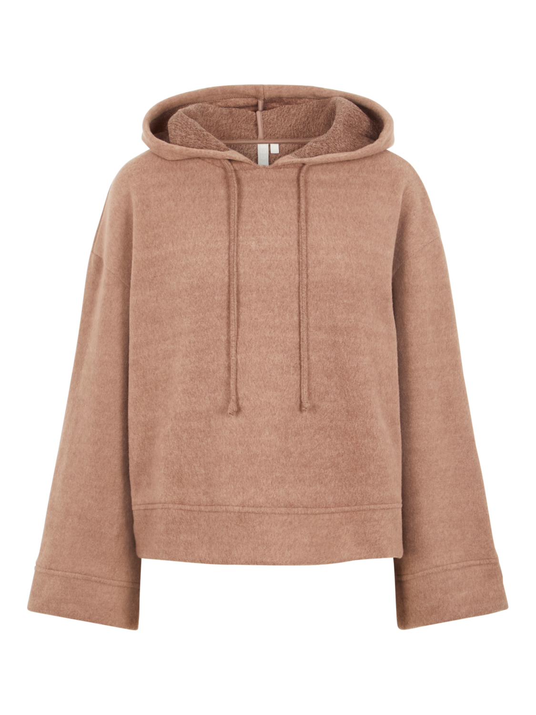 brun hoodie genser Rebena
