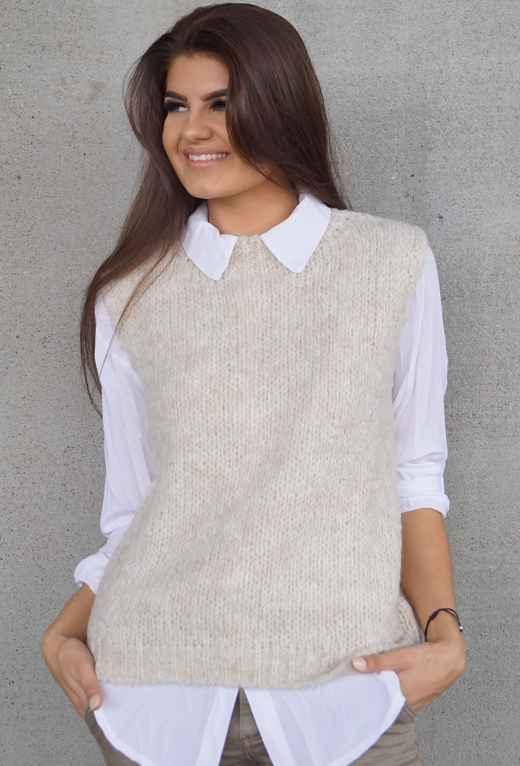 hvit linskjorte Kiva MioTrend