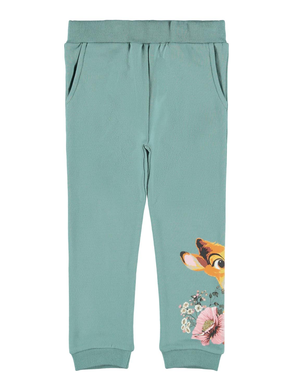 Grønn Bambi joggebukse – Name It grønn joggebukse Bambi – Mio Trend
