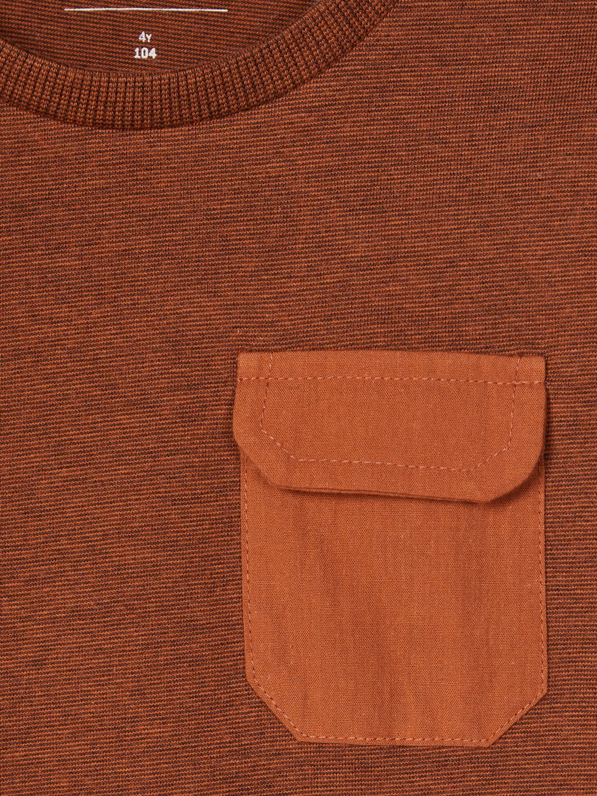 Lyse brun genser Name It