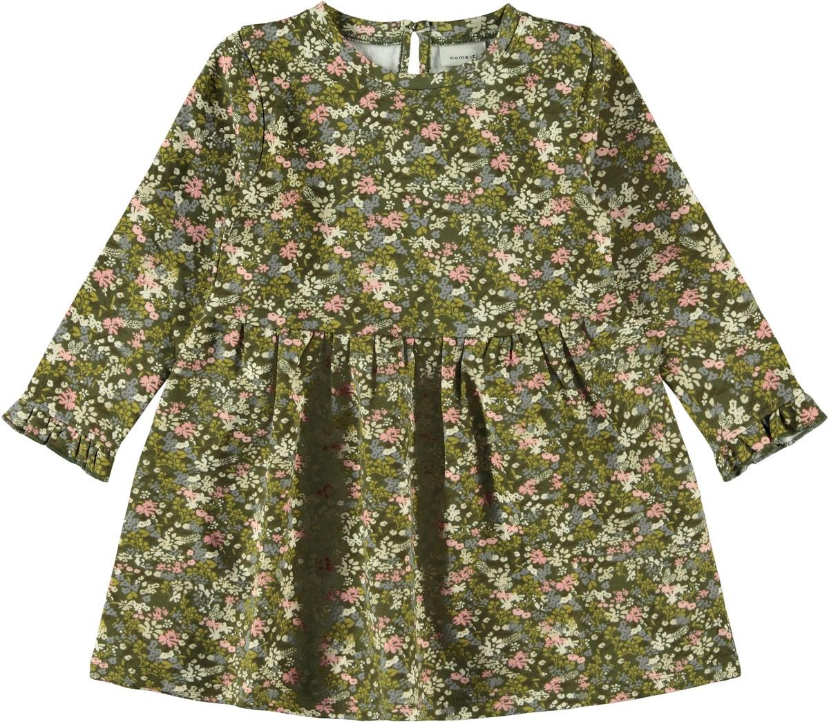 Grønn kjole til barn