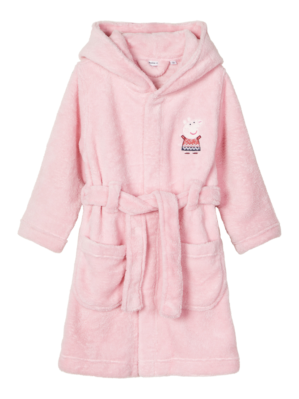 Peppa Gris badekåpe rosa