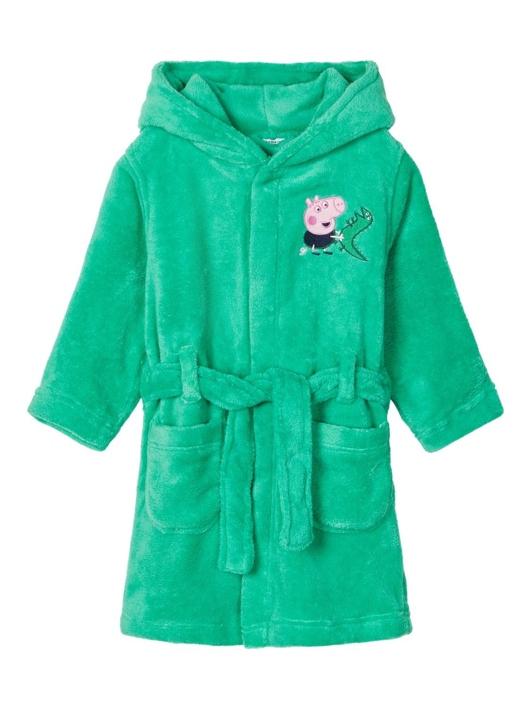 Grønn badekåpe Peppa Gris