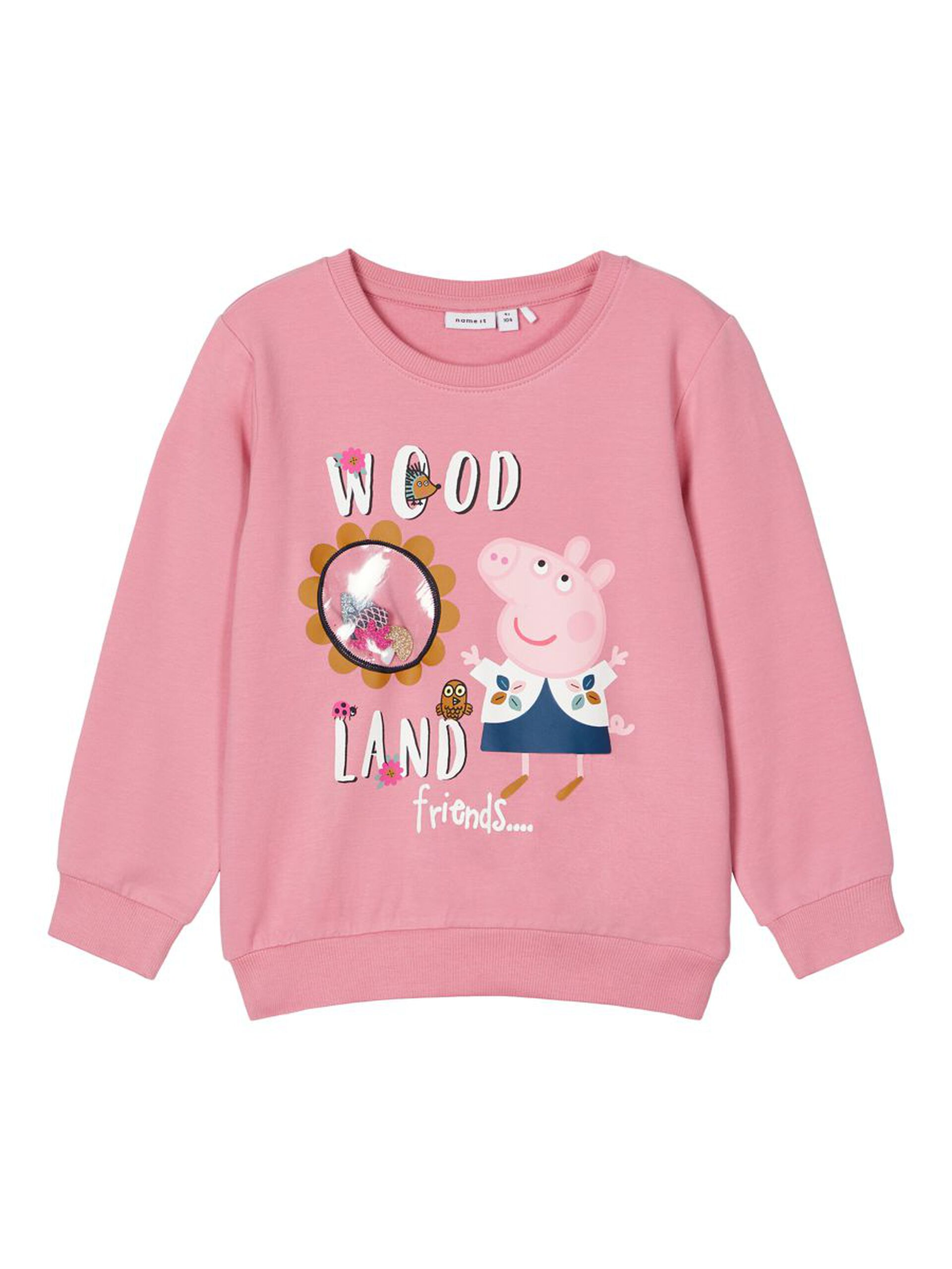 Rosa Peppa Gris genser – Name It NmfPeppapig lois swe pant, wild rose – Mio Trend