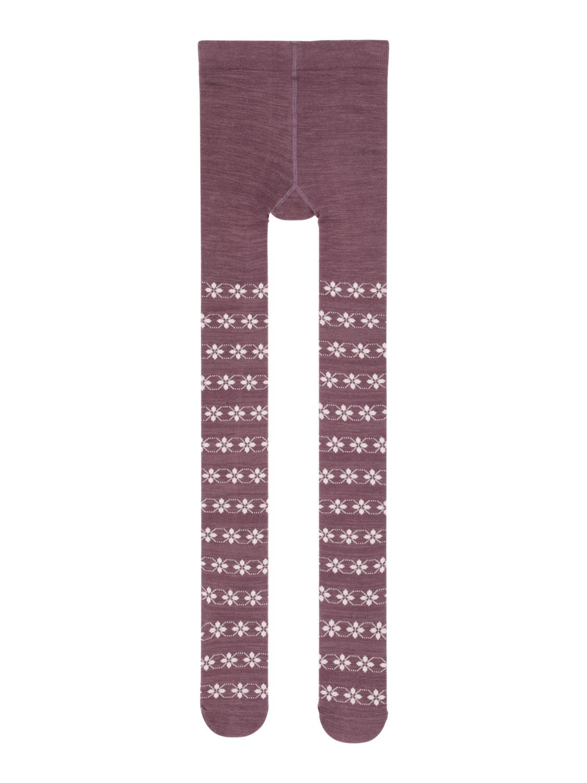 Lilla strømpebukse ull barn – Ull lilla strømpebukse i ull Wak – Mio Trend