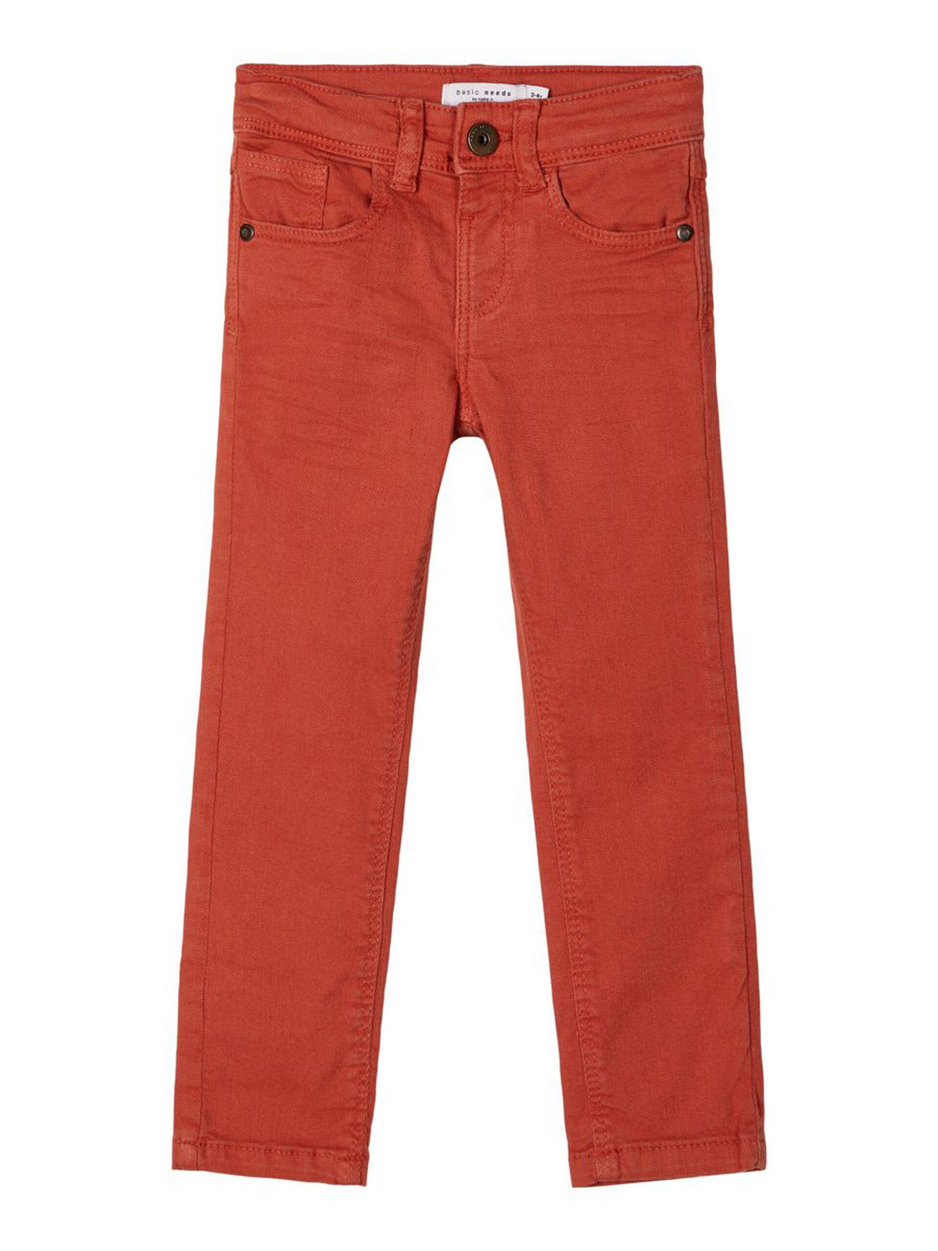 Rød bukse til gutt
