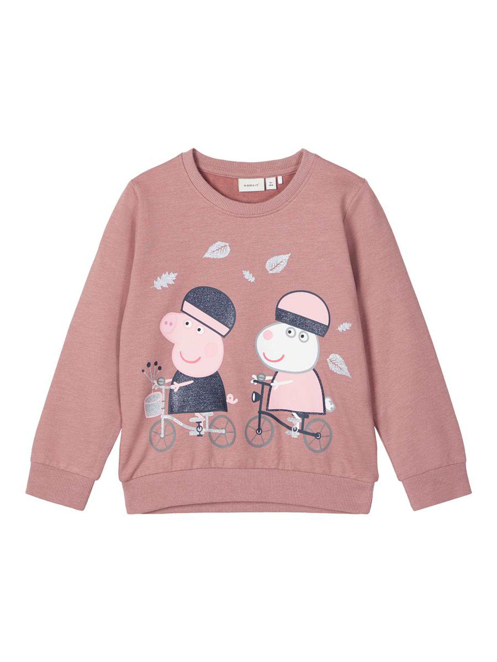 Peppa genser fra Name It – Name It rosa genser Peppa Gris – Mio Trend