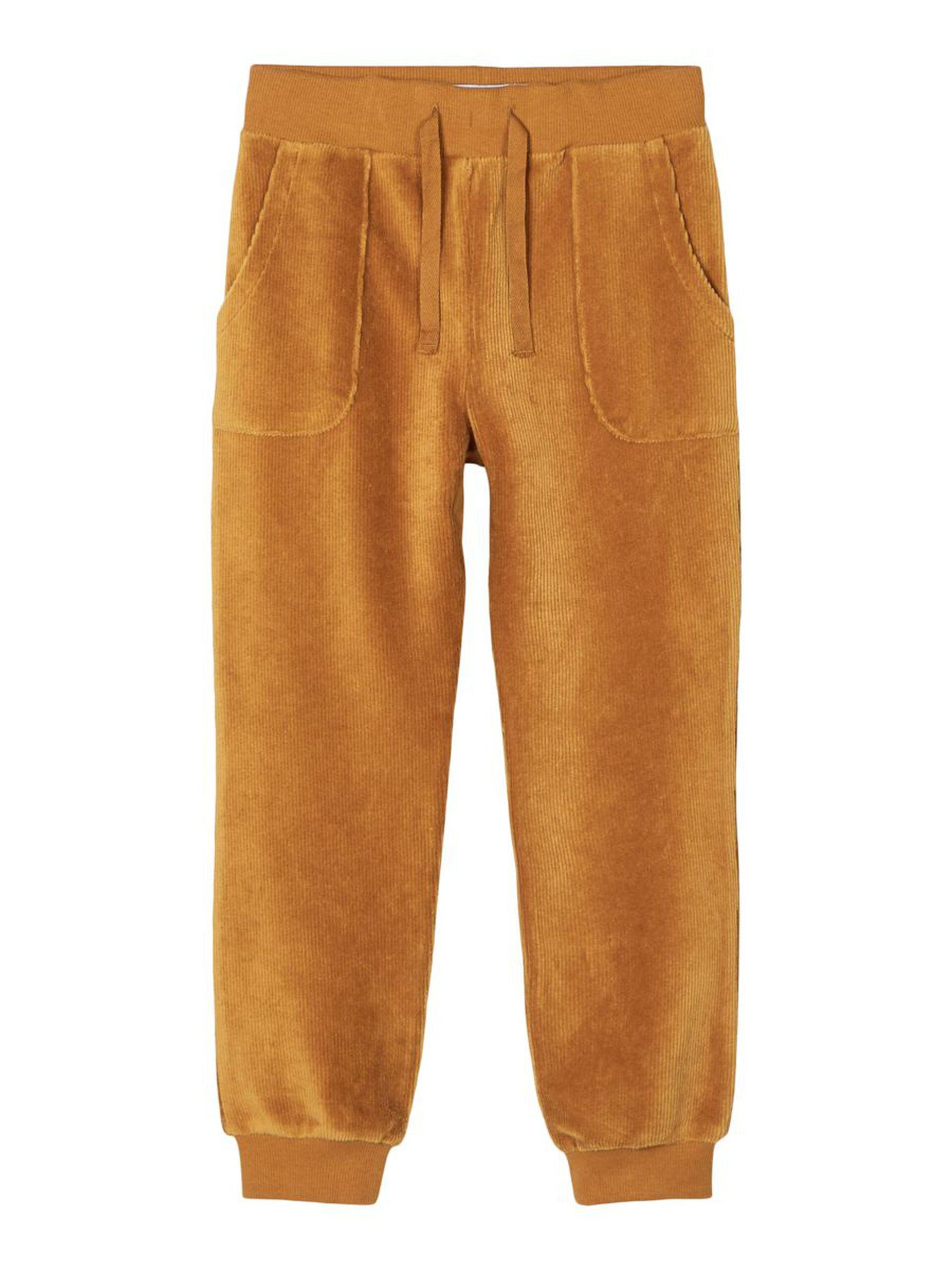 Bukse velur barn – Name It brun velurbukse Ramma – Mio Trend