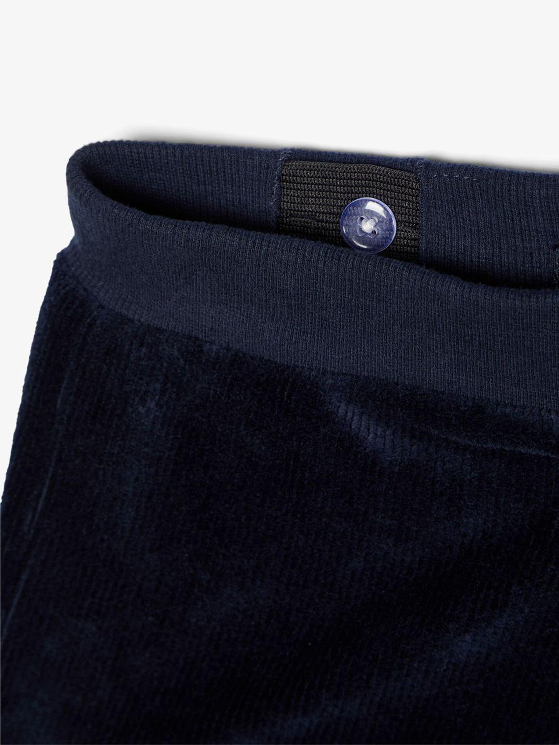 Name It bukse blå velur