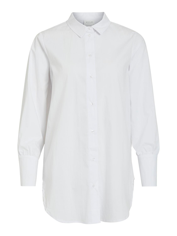 Hvit lang skjorte