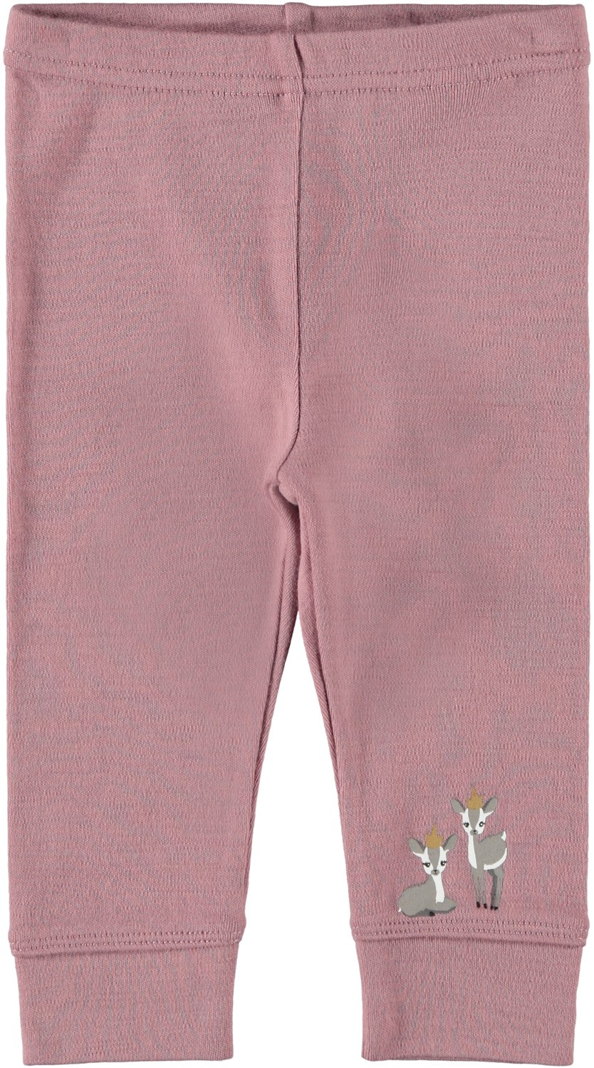 Leggings i ull Name It – Ull rosa leggings i ull Willow – Mio Trend