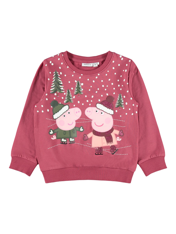 Rød julegenser Peppa Gris – Name It julegenser Peppa Gris rød – Mio Trend
