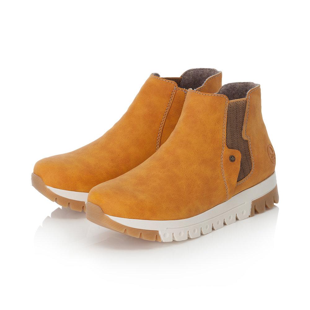 Gule sko fra Rieker