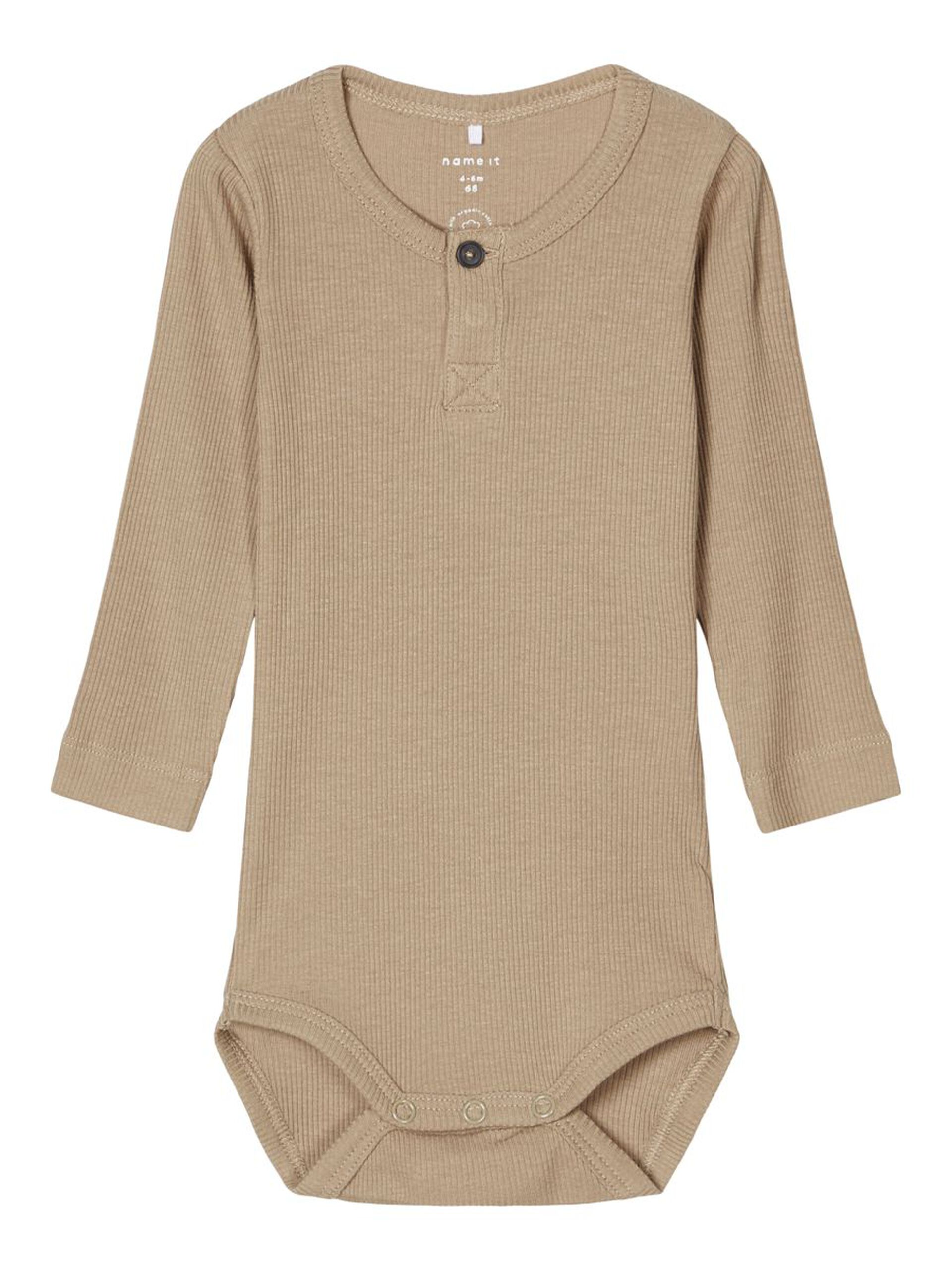 Beige body til baby – Name It beige body Richard – Mio Trend