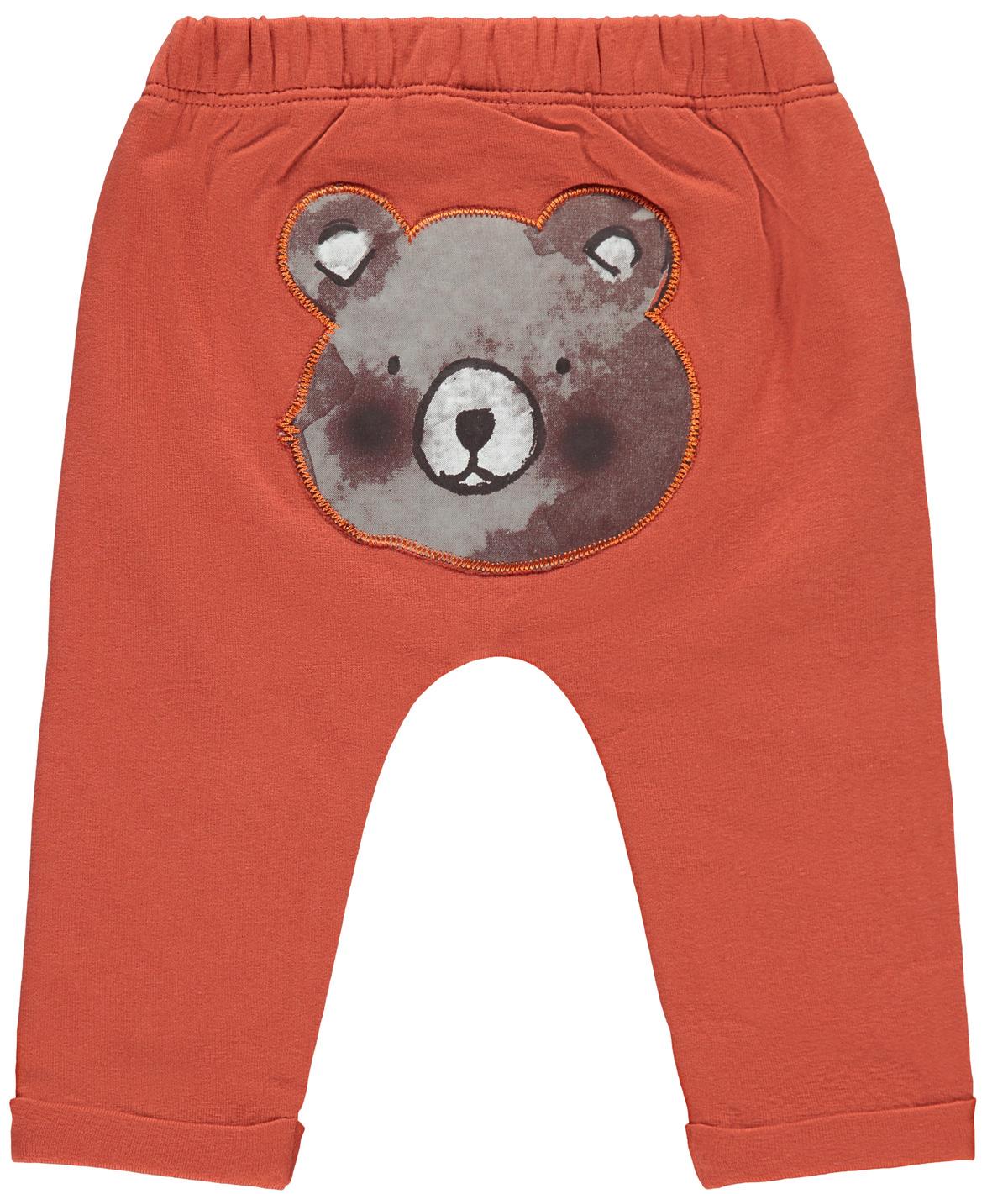 Bukse med bamse bak