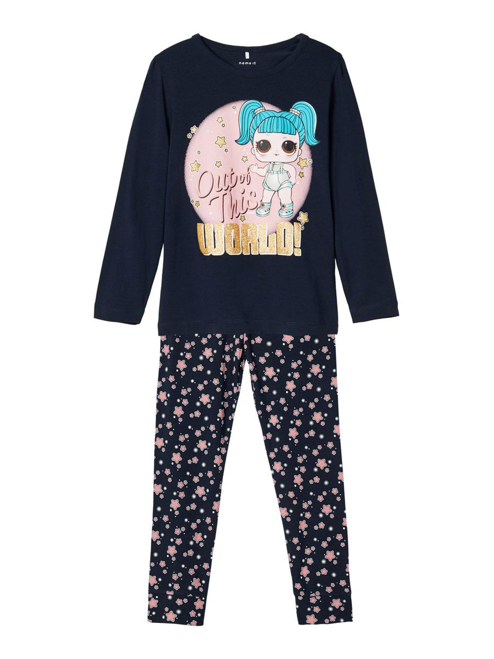 Pysjamas jente LOL – Nattøy LOL blå pysjamas  – Mio Trend