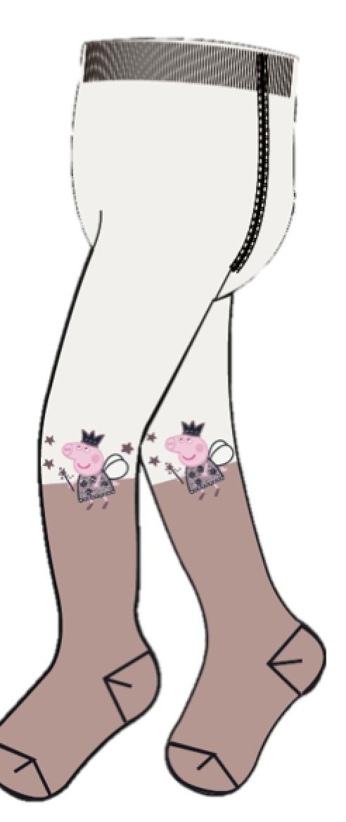 Peppa Gris strømpebukse – Sokker og strømpebukser Peppa Gris strømpebukse  – Mio Trend