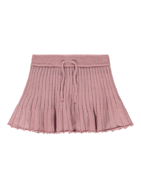 Rosa skjørt i ull – Ull rosa ullskjørt – Mio Trend