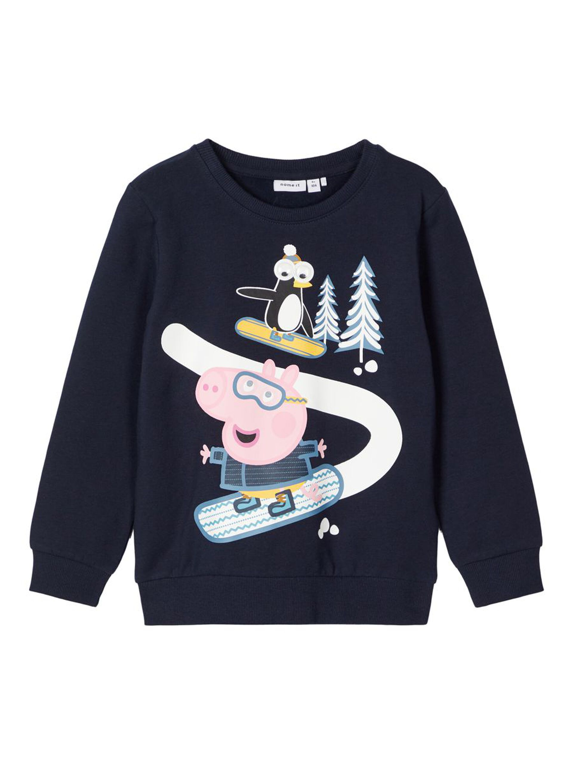 Peppa Gris genser Georg – Name It blå genser Peppa Gris Colbie – Mio Trend