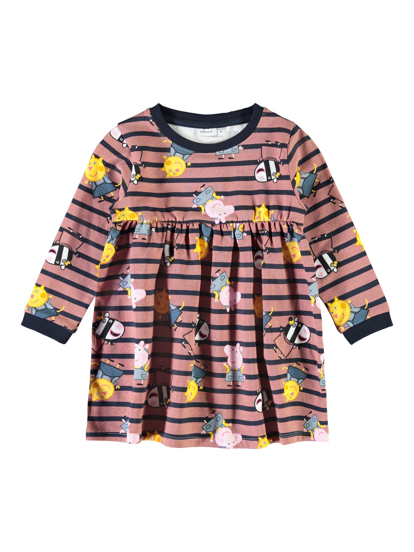 Peppa Gris kjole – Name It Peppa Gris kjole rosa – Mio Trend