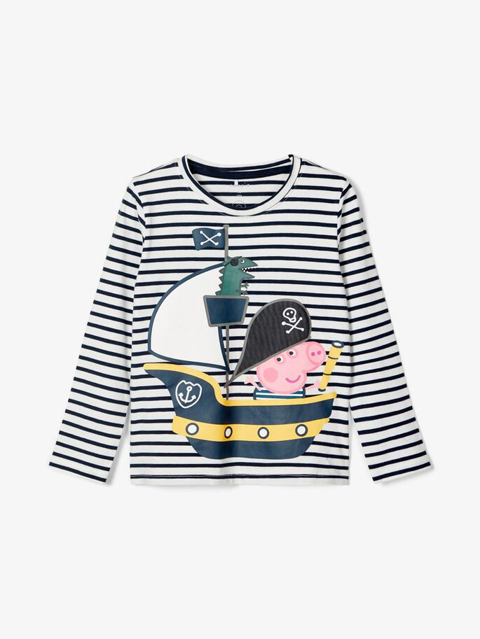 Genser striper Peppa Gris – Name It Peppa Gris genser striper – Mio Trend