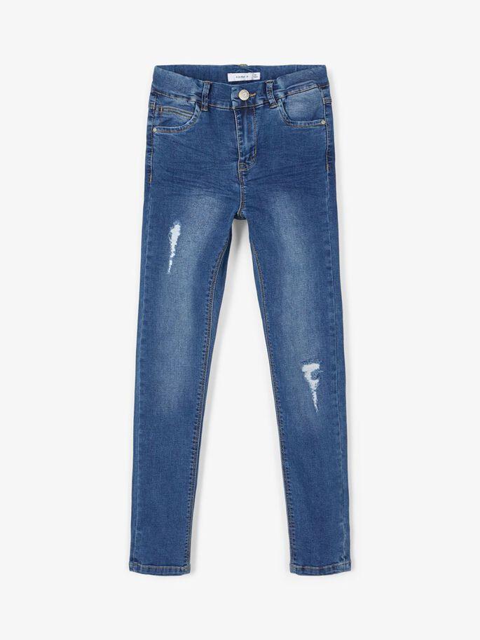 Smal jeans til jente