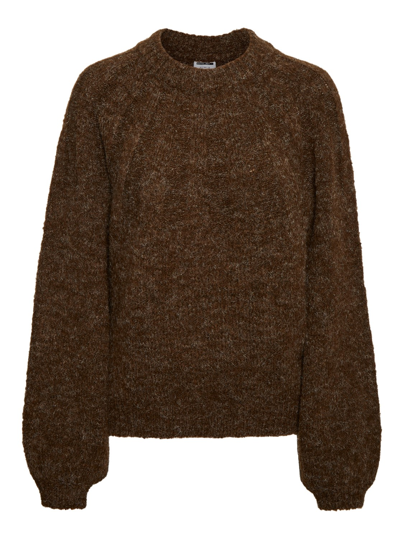 Noisy May mørke brun genser